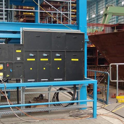 Anwendungsbeispiel-Stromverteiler